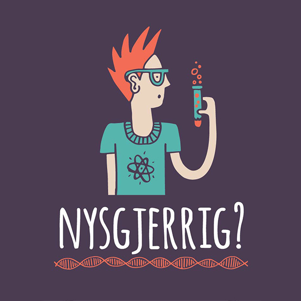 Logo for jegernysgjerrig.no, av Haus Byrå