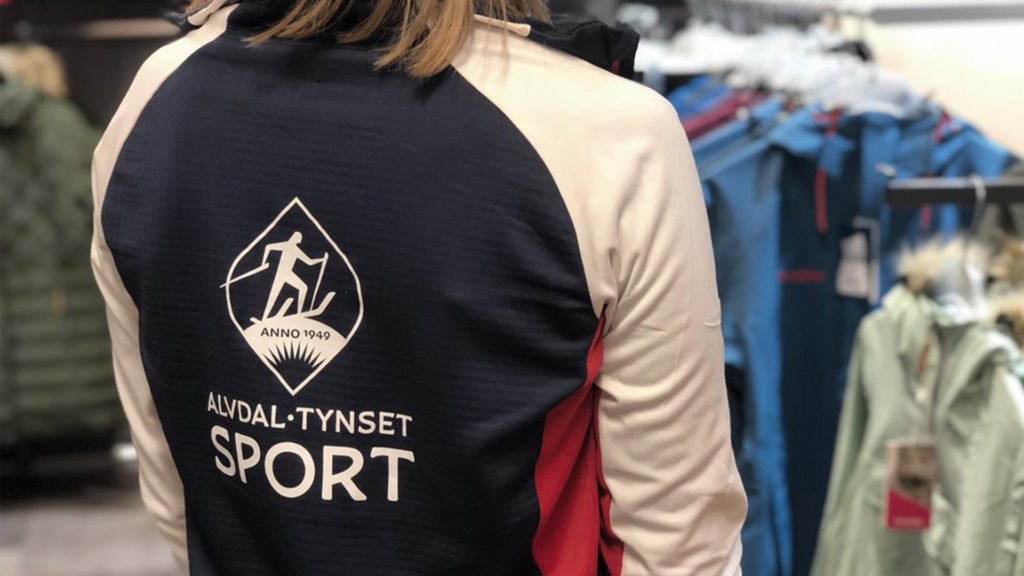 Ansattklær/ansattuniform for Alvdal Tynset Sport - Visuell profil - Haus byrå