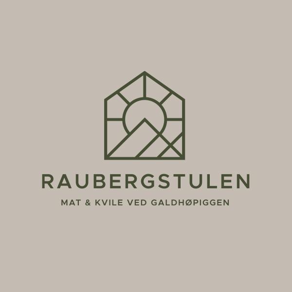 Logo versjon 2 for Raubergstulen, visuell identitet og grafisk profil, Haus bryå