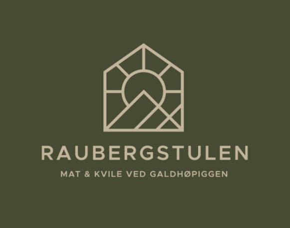 Logo Raubergstulen utviklet av Haus Byrå