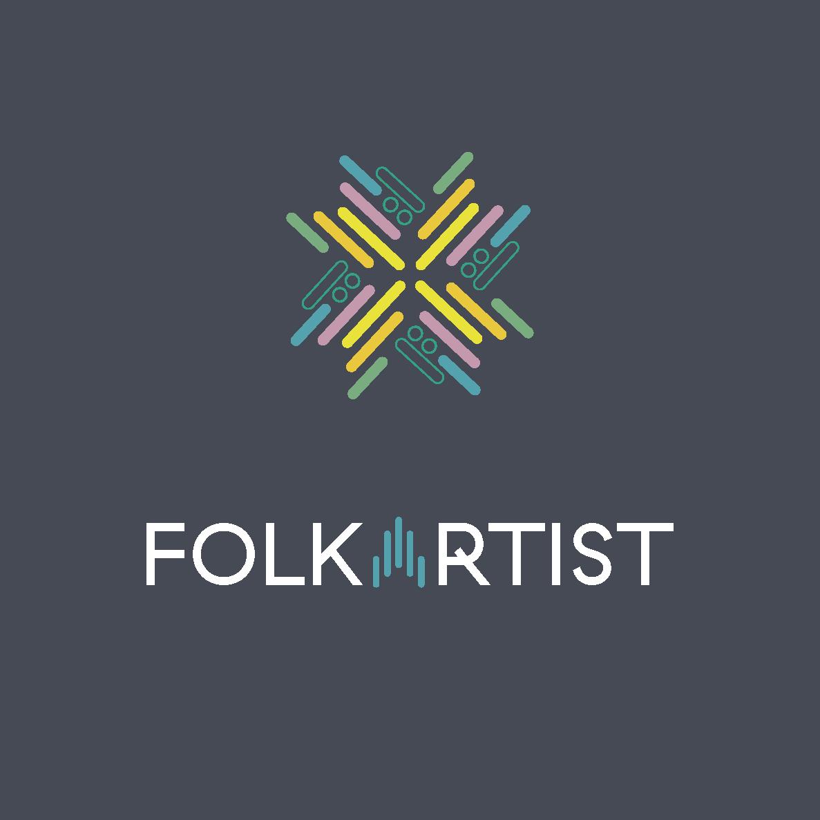 Logoen til Folkartist - variant 2