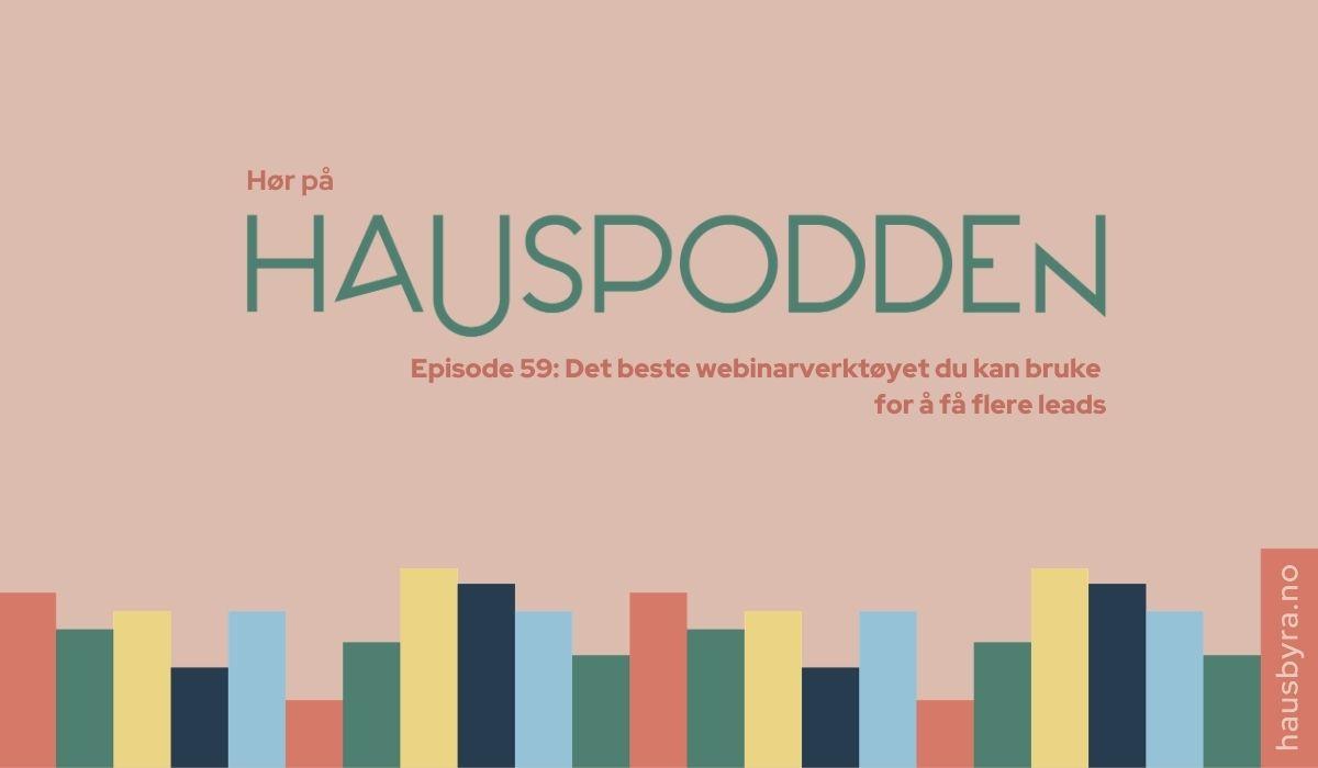 Podcastepisode om webinarverktøy