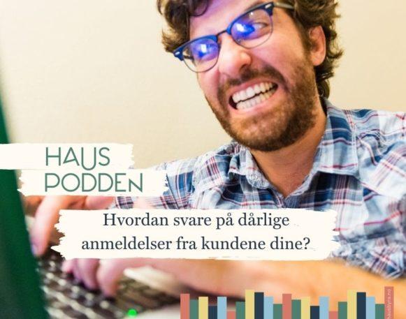 hauspodden podcast om kritikk på nett
